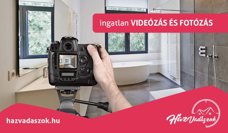 ingatlan videózás és fotózás