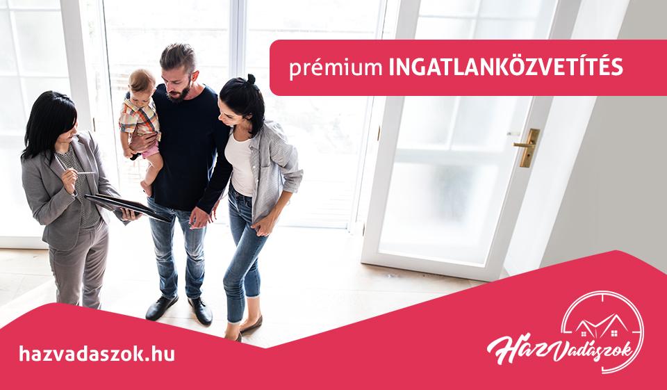 prémium ingatlanközvetítés