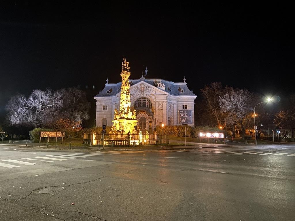 Kecskeméti Katona József színház éjszaka