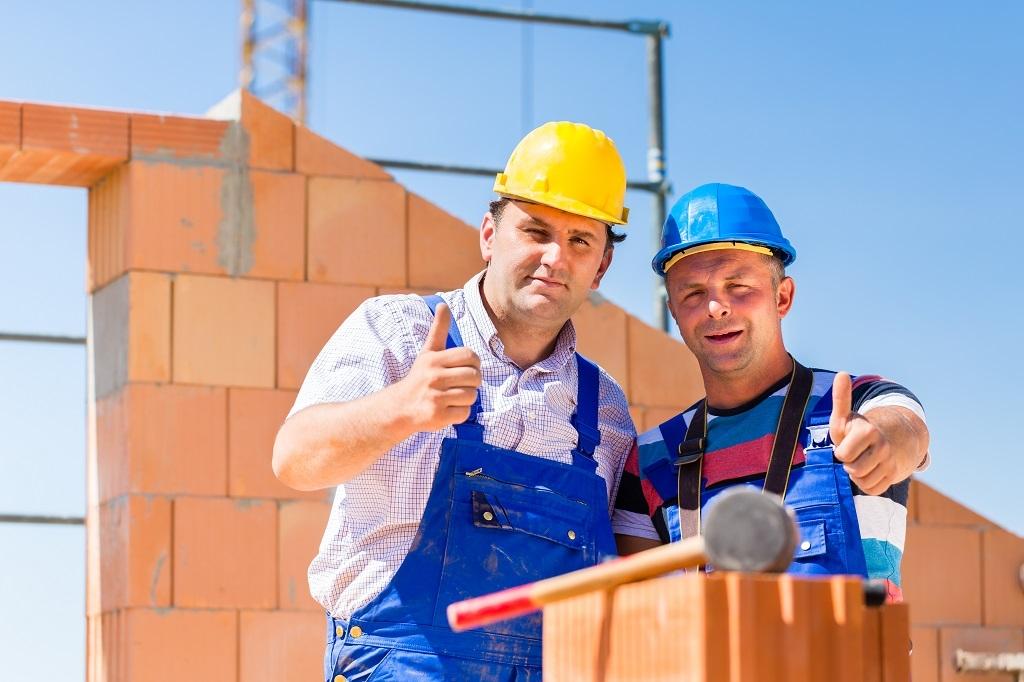 téglaház építése