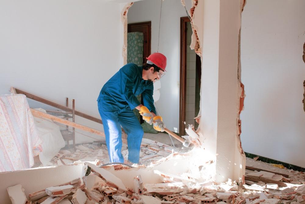 azbeszt a falban