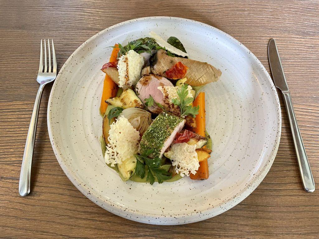 Kecskemét legjobb étterem, Vincent bar & Restaurant Kecskemét, Borjúgerinc