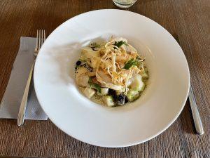 Kecskemét legjobb étterem, Vincent bar & Restaurant Kecskemét, Füstölt csirkés gnocchi